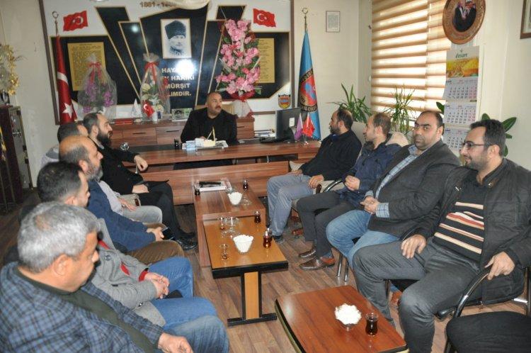 Yeniden Refah Partisi'nden Şoförler ve Otomobilciler Odasına Ziyaret