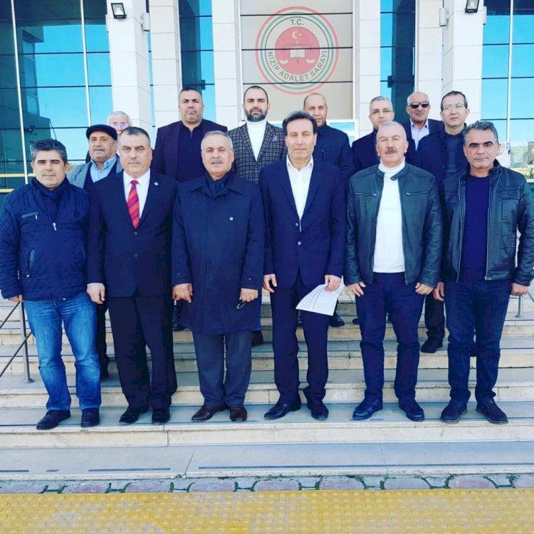 CHP İLÇE BAŞKANI KAHRAMAN'DAN KONGRE TEŞEKKÜRÜ
