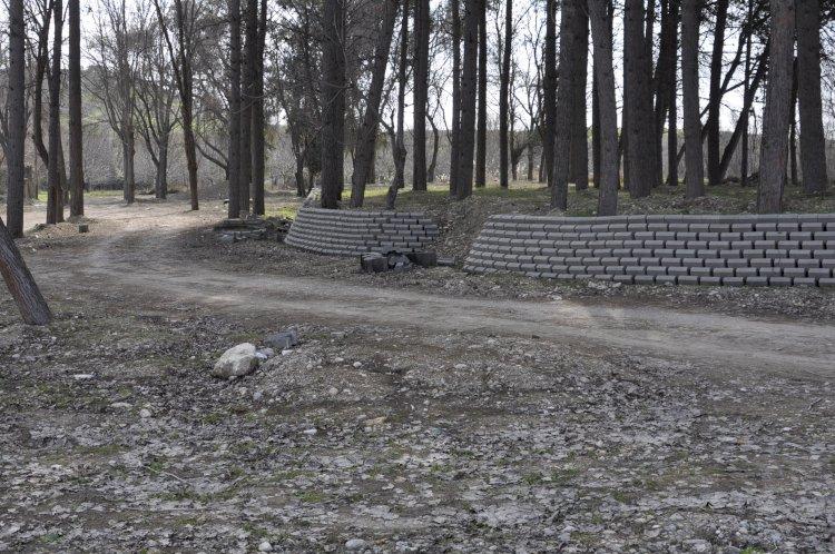 Karkamış'ta Piknik Alanı Yarım Kaldı