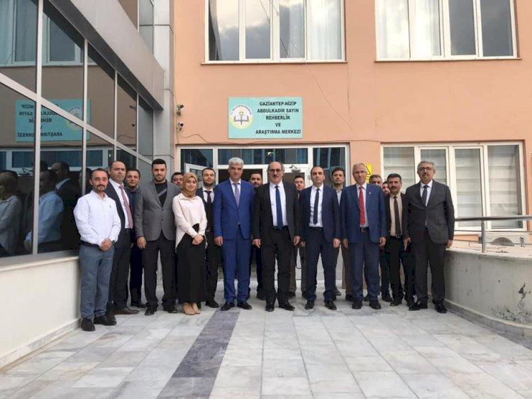 Mehmet Nezir Gül, Nizip'te bir dizi ziyarette bulundu