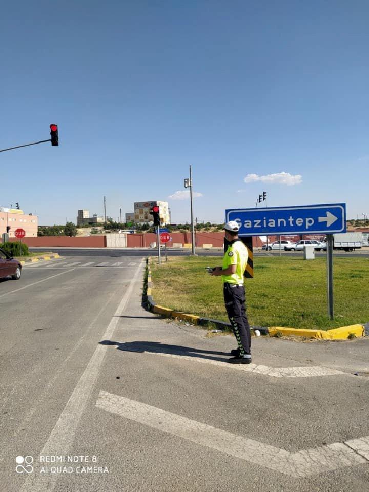 Nizip'te Trafik Uygulaması