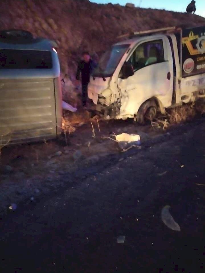 Gaziantep - Nizip karayolunda korkunç kaza: ölü ve yaralılar asfalta savruldular.