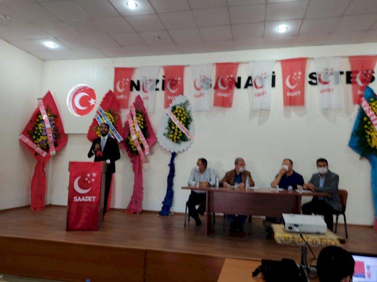 Saadet Partisi Nizip Teşkilatı 7. Olağan Kongresi Yapıldı