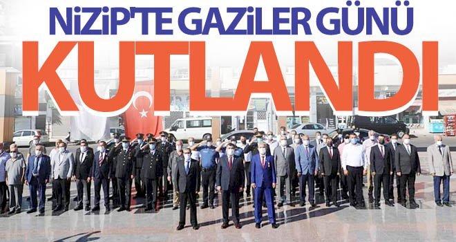 NİZİP'TE GAZİLER GÜNÜ KUTLANDI