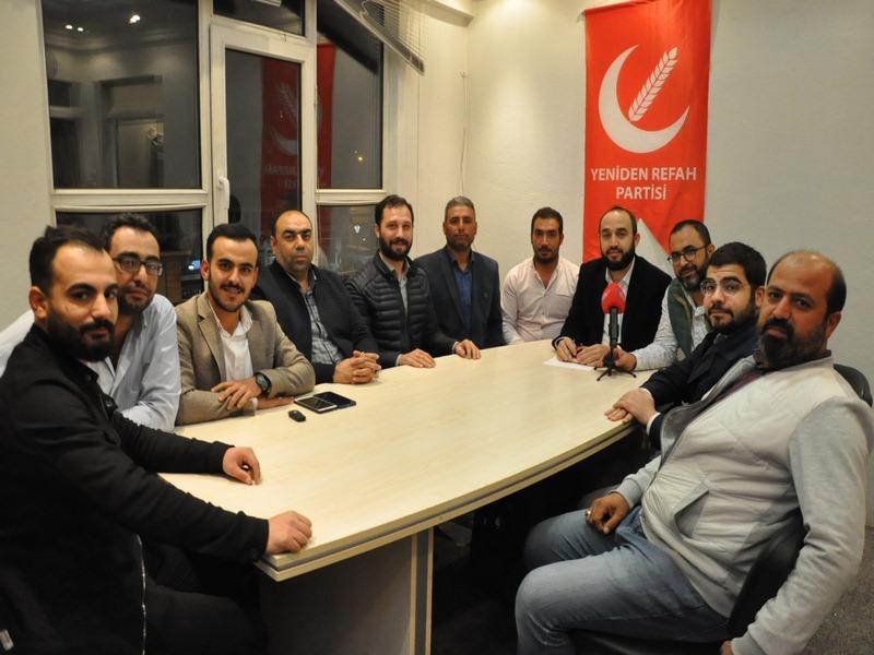 Yeniden Refah Partisinin ilk büyük kongresi 17 Kasım da
