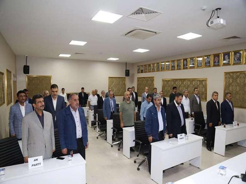 Nizip Belediye Meclisinden Barış Pınarı Harekatına destek