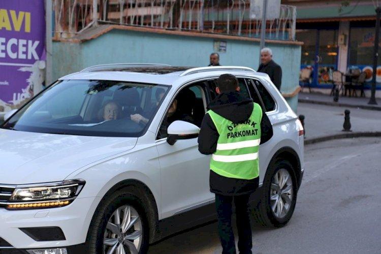 Nizip'li Vatandaşlardan Parkomata Tam Not