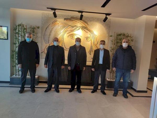 Nizip Radyo Televizyon Yöneticilerinden İbrahim Sarı'ya Ziyaret