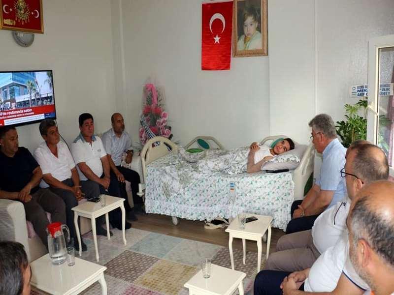 NTO dan Suriye Gazisi Uzman Çavuş Samet Denize Ziyaret